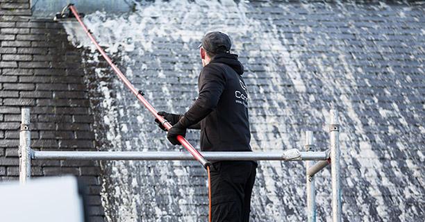 Roof moss removal Felmersham